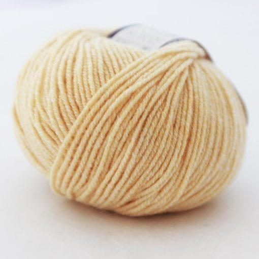 Di Lusso Lemon pure cashmere sport weight yarn