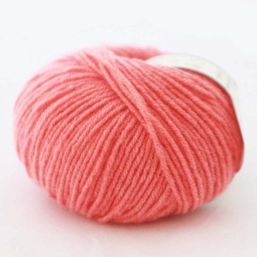 Di Lusso Tangerine pure cashmere sport weight yarn