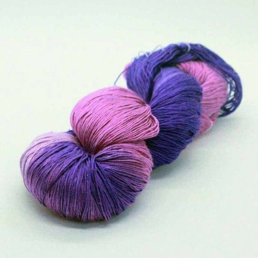 Queen Silk Lace Fuschia 16 pure silk lace weight yarn
