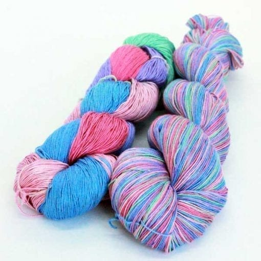 Queen Silk Lace Hyacinth pure silk lace weight yarn