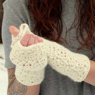 Ceilidh Newsboy Mitts