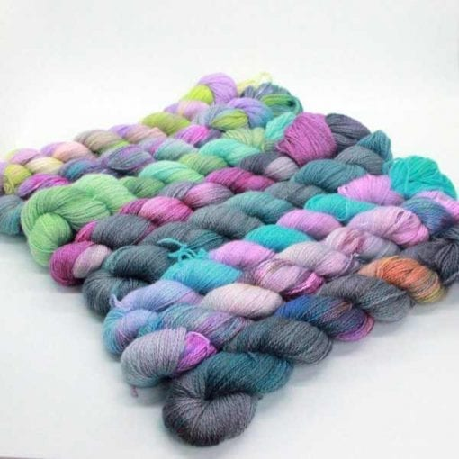 Angelo Lace hand-dyed 2 ply lace