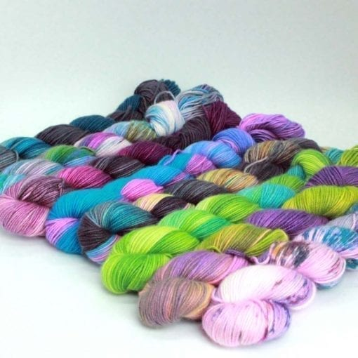 Leggero cashmere silk blended 4ply yarn