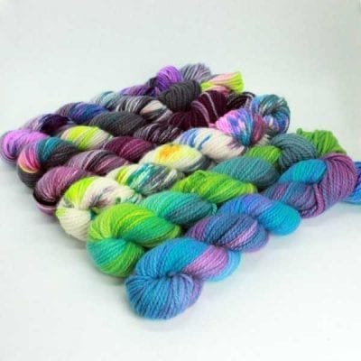 Altopiano Hand-Dyed pure cashmere yarn