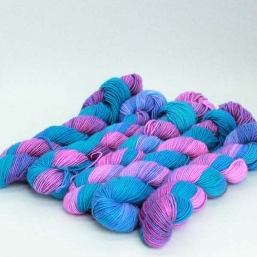 Leggero cashmere silk blended 4ply yarn BubbleGum
