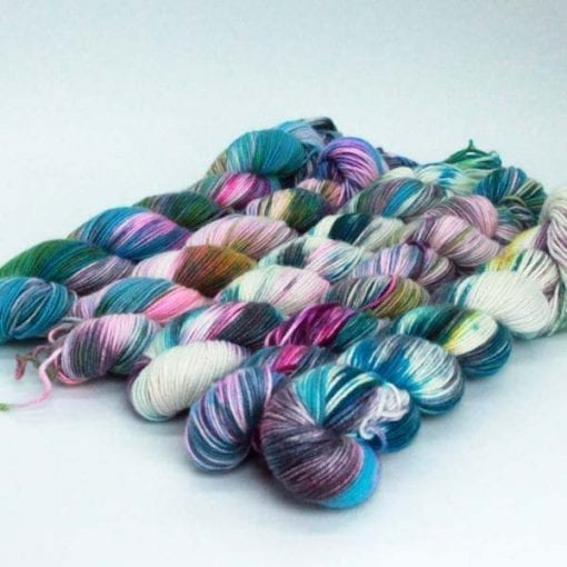 Leggero cashmere silk blended 4ply yarn Happiness