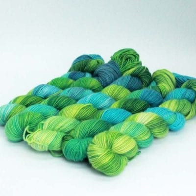 Leggero cashmere silk blended 4ply yarn Wetlands