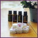 balm sample pots made with dōTERRA essential oil