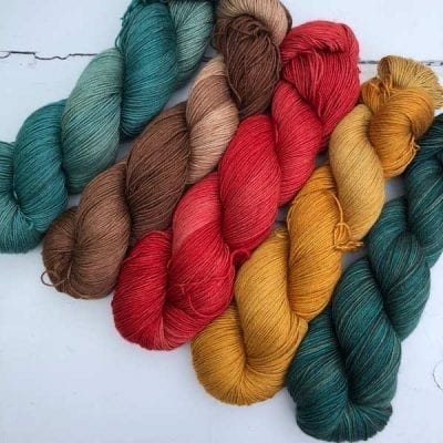 Silkamel 4ply yarn