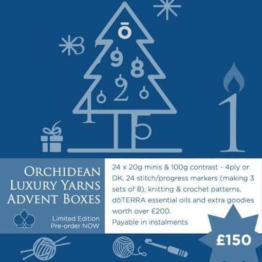 Luxury Yarns and Oils Advent Boxes