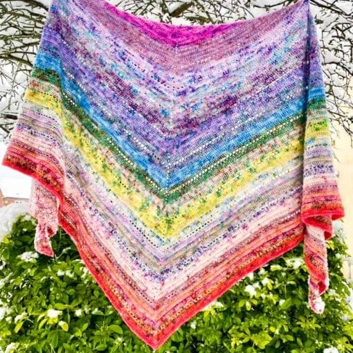 2020 Shawl made by a clever customer