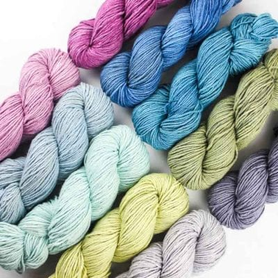 Pure Silk Chunky yarn